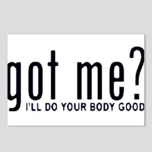 Got Me? I'll Do Your Body Go Postcards (Package o