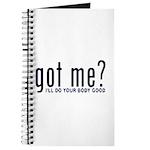 Got Me? I'll Do Your Body Go Journal