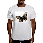 Baltimore Butterfly Ash Grey T-Shirt