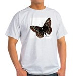 Baltimore Butterfly (Front) Ash Grey T-Shirt
