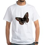 Baltimore Butterfly (Front) White T-Shirt