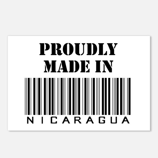 Made in Nicaragua Postcards (Package of 8)