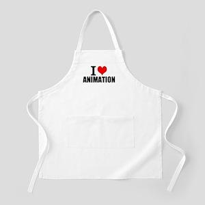 I Love Animation Light Apron