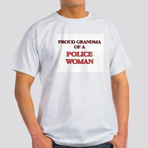 Proud Grandma of a Police Woman T-Shirt