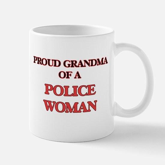 Proud Grandma of a Police Woman Mugs
