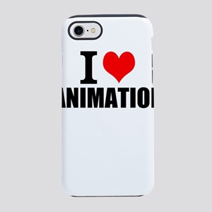 I Love Animation iPhone 8/7 Tough Case