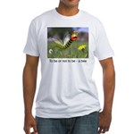 Worm Bee Fitted T-Shirt