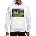 Worm Bee Hooded Sweatshirt