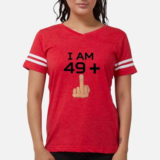 49 Plus Middle Finger 50th Birthday T-Shirt