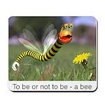 Worm Bee Mousepad