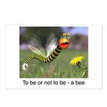 Worm Bee Postcards (Package of 8)