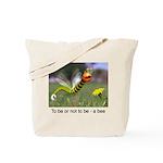 Worm Bee Tote Bag