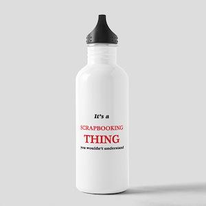 It's a Scrapbookin Stainless Water Bottle 1.0L