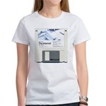 Internet on a disk Women's T-Shirt
