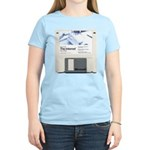 Internet on a disk Women's Light T-Shirt
