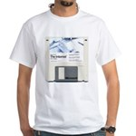 Internet on a disk White T-Shirt
