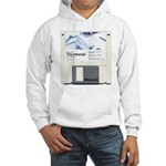 Internet on a disk Hooded Sweatshirt