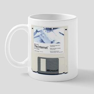 Internet on a disk Mug