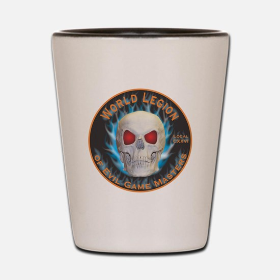 Legion of Evil Game Masters Shot Glass