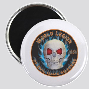 Legion of Evil Game Masters Magnet
