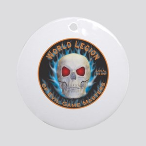 Legion of Evil Game Masters Round Ornament