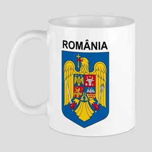 Romania arms with name Mug