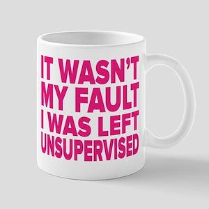 I Was Left Unsupervised Mugs