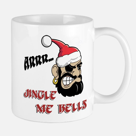 Santa Pirate Mugs