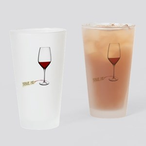 Drink Me Drinking Glass