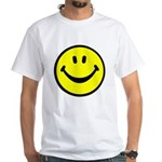 Happy Face White T-Shirt