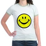 Happy Face Jr. Ringer T-Shirt