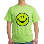 Happy Face Green T-Shirt