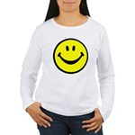 Happy Face Women's Long Sleeve T-Shirt