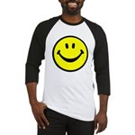 Happy Face Baseball Jersey