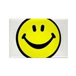 Happy Face Rectangle Magnet (10 pack)