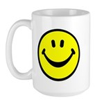 Happy Face Large Mug