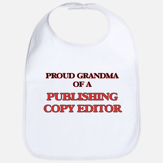 Proud Grandma of a Publishing Copy Editor Bib