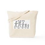 Ass Family Tote Bag