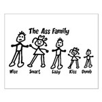 Ass Family Small Poster