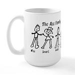 Ass Family Large Mug