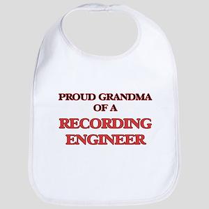Proud Grandma of a Recording Engineer Bib