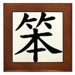 Strength and Honor Framed Tile