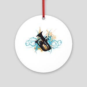 Urban Baritone Ornament (Round)