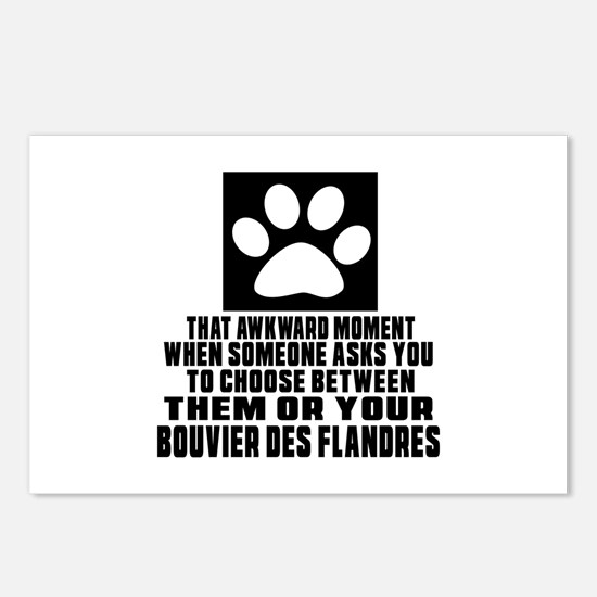 Bouvier Des Flandres Awkw Postcards (Package of 8)