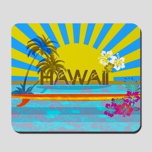 Hawaii Bright Colorful Colors Mousepad