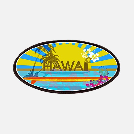 Hawaii Bright Colorful Colors Patch