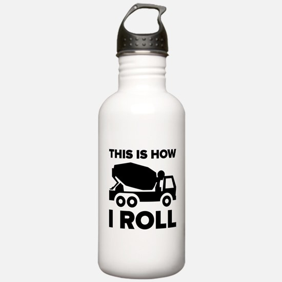 This Is How I Roll Cem Water Bottle