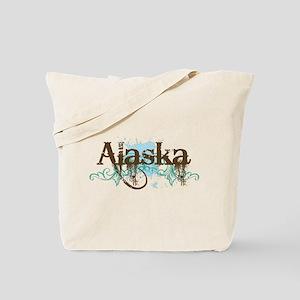 ALASKA grunge Tote Bag
