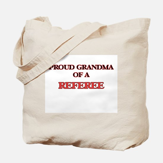Proud Grandma of a Referee Tote Bag