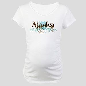 ALASKA grunge Maternity T-Shirt
